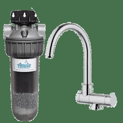 Filtre Amilo sous évier avec robinet 3 voies