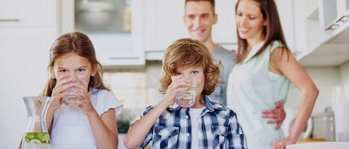 Amilo filtre et vitalise toute l'eau de votre habitation.