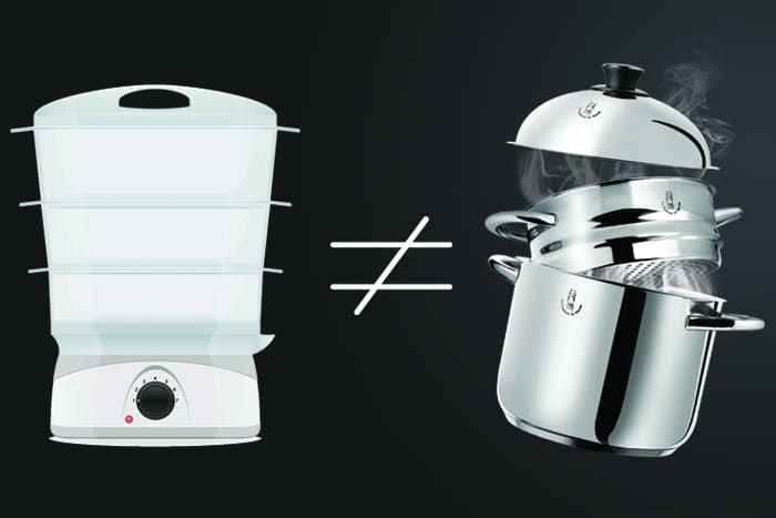 Différence entre un cuit-vapeur et un vitaliseur de Marion