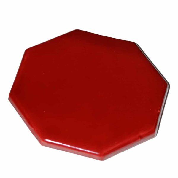 Plateau revitalisant biocéram AIM Picard hexagonal rouge