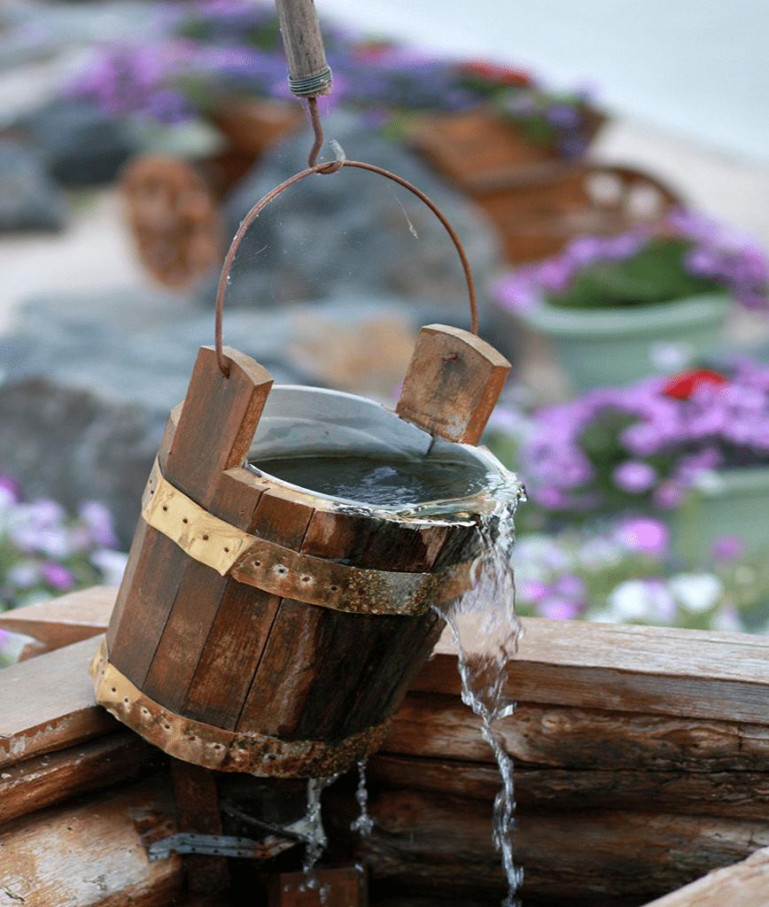 Filtration pour captages et récupérateurs d'eaux de pluie