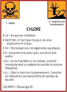 Les dangers du chlore