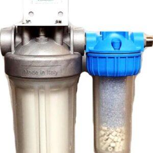 Filtre à eau Amilo compact + vitalisation pour appartement
