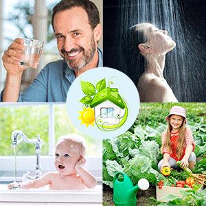 Filtres à eau Amilo pour toute la maison
