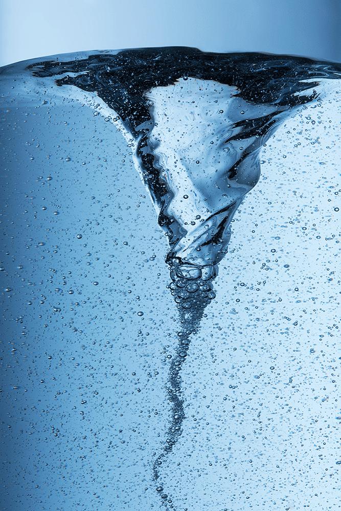 vortex pour dynamiser l'eau