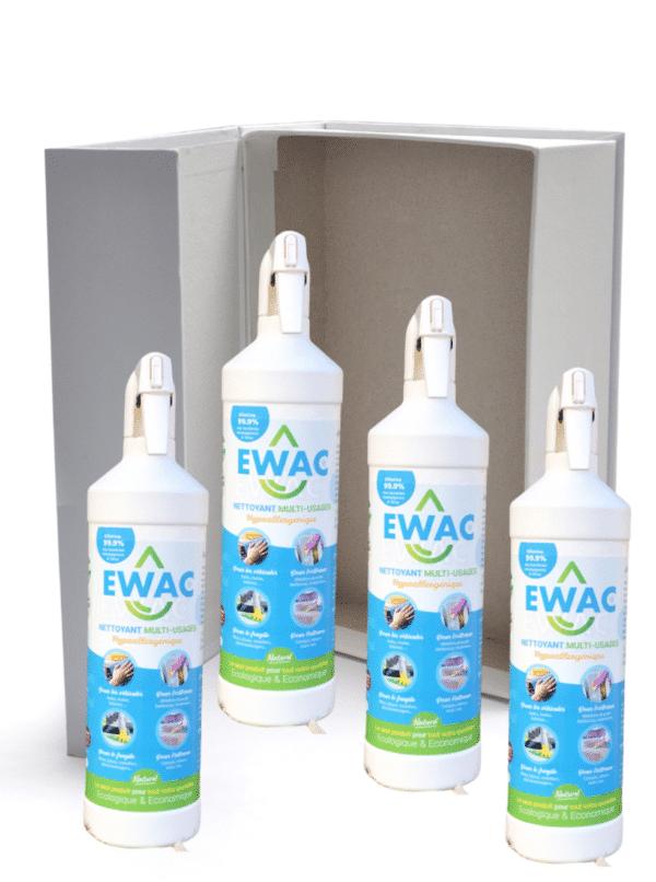 Nettoyant bio Ewac carton de 4 bouteilles de 1L